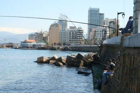 The-corniche-in-beirut